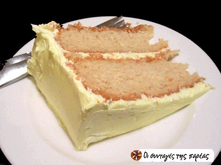 Τούρτα λεμονιού (Lemon-Lime Cake ) #sintagespareas