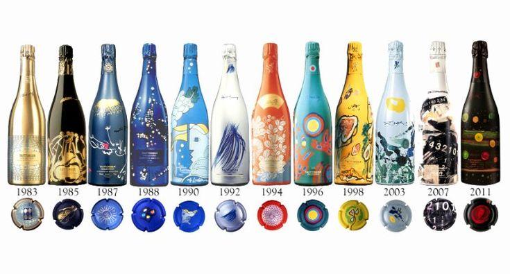 The Taittinger Champagne Art Collection Brut Millésimé