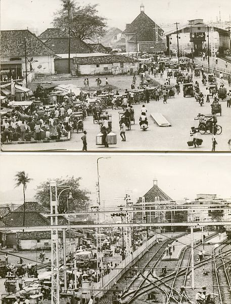 Stasiun Jatinegara sebelum kemerdekaan bernama Stasiun Meester Cornelis adalah sebuah stasiun kereta api di daerah Jatinegara, Jakarta Timur. Stasiun ini merupakan stasiun bertemunya tiga jalur, yaitu jalur ke Pasar Senen, jalur ke Manggarai, dan jalur ke Bekasi. Setiap harinya dilewati sekitar 350 kereta api. Di dekat stasiun ini terdapat dipo lokomotif.