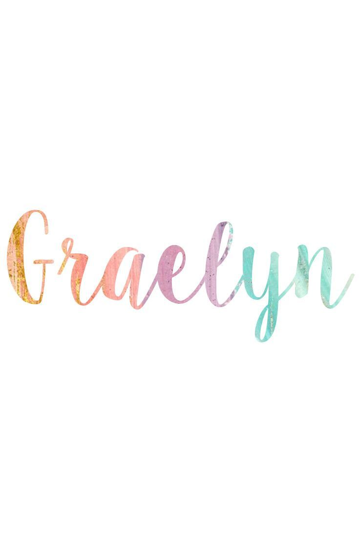 GRAELYN - Baby Names & Meanings @ nameille.com Find your PERFECT baby name!