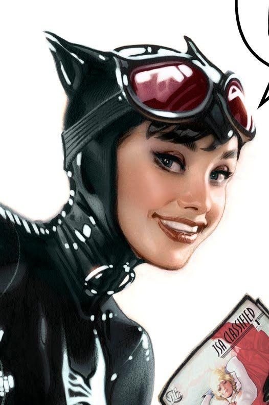 I do love Adam Hughes' Audrey Hepburn inspired Catwoman.  I just love Adam Hughes to be fair.