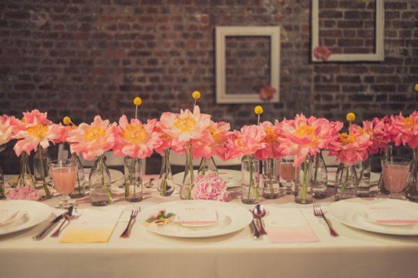 Underground Ombre Peony Wedding Ideas ~ UK Wedding Blog ~ Whimsical Wonderland Weddings