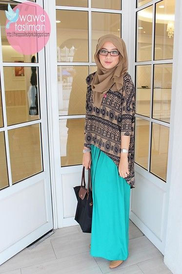Tribal Tops (by Wawa Tasliman) Http//lookbook.nu/look/3382913-Tribal-Tops Hijab Style | I Hijab ...
