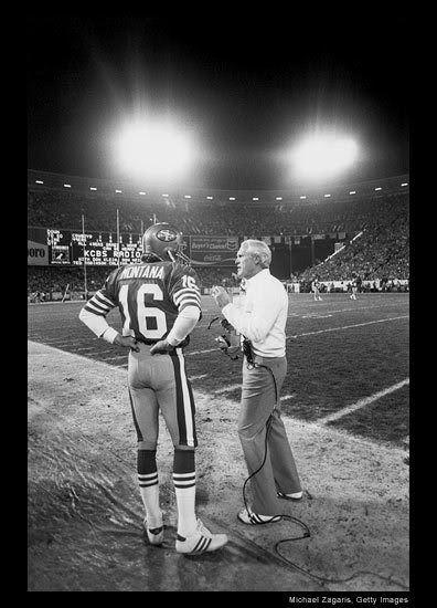 47c947b45 ... Jersey Coach Bill Walsh and Joe Montana. Bill WalshJoe MontanaNfl  PhotosSan Francisco 49ersCandlesticksCandlestick ParkBill .