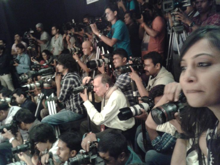 Behind The Scenes at Lakme Fashion Week. The Jaipur Bride 2013.