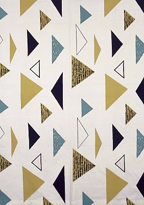Lucienne Day fabric - Isosceles (1955)