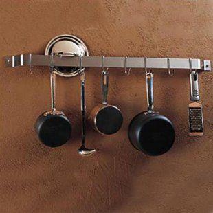 Pot Rack: Mounted Pot, Pot Racks, Bar Wall, You, Kitchen, Gourmet Utensil