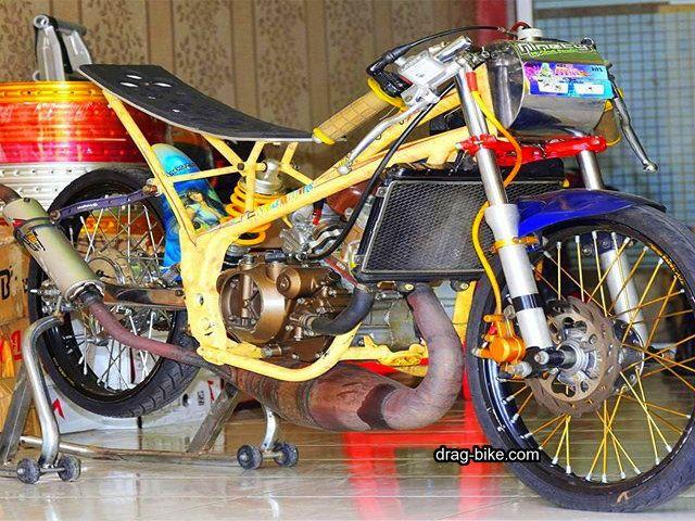 50 Foto Gambar Modifikasi Ninja R Drag Bike Racing Drag Bike Com Di 2020 Sepeda Mobil Mewah