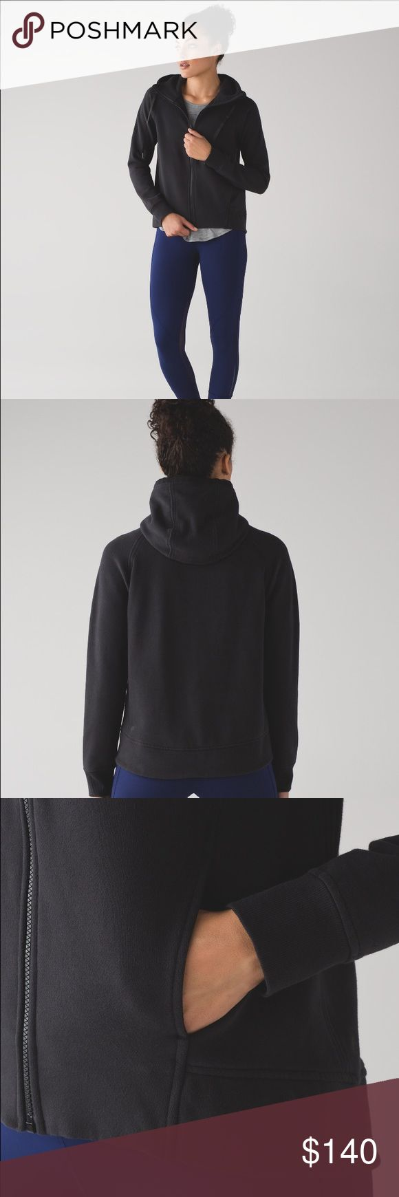 """Fleece Be True"" Lululemon Hoodie Comfortable, cozy, and warm!  I also have this in Darkest Magenta (size 8) and Gray (size 6).  Offers are welcome! lululemon athletica Tops Sweatshirts & Hoodies"