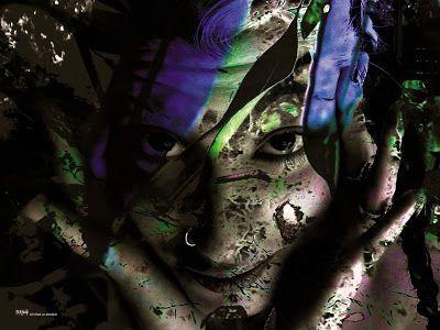 Glaufx Garland's Exquisite Art - ΓΛΑΥΚΩΨ - Σ. Β. ΚΟΥΚΟΥΛΟΜΑΤΗΣ: Flower within -ΑΝΘΟΣ ΕΣΩ -Eleni von Mondlicht -Gla...