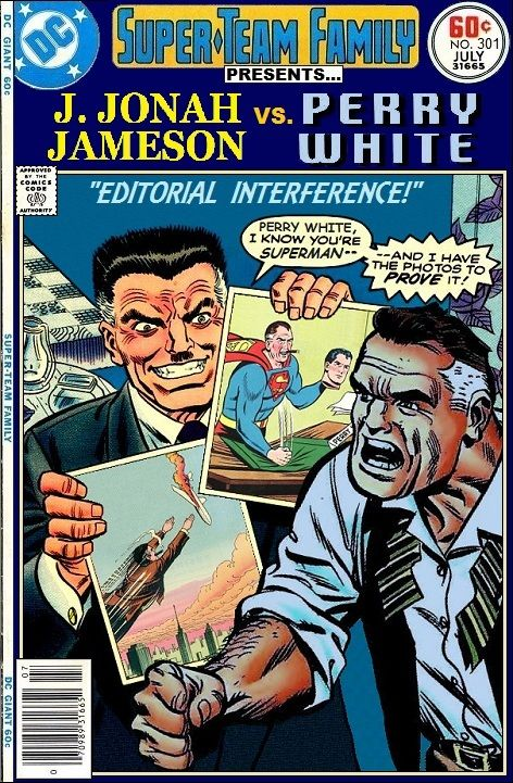 Super-Team Family: The Lost Issues!: J. Jonah Jameson Vs. Perry White