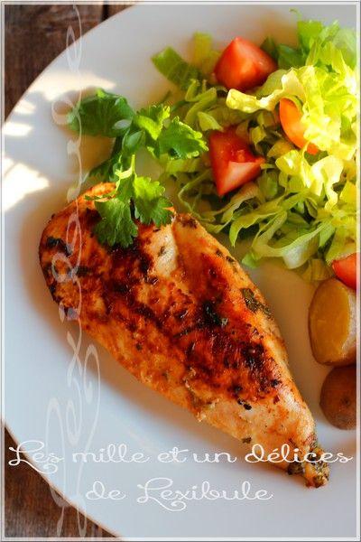les milles & un délices de ~lexibule~: ~Poitrine de poulet citron et coriandre~