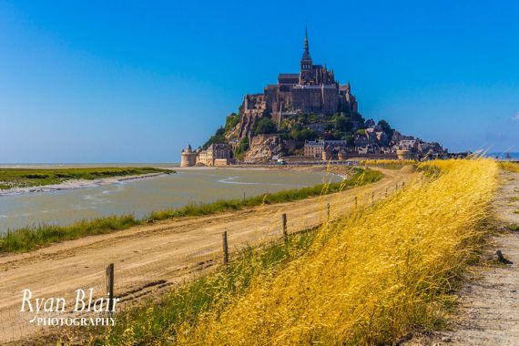Mont St Michel France  Castle Travel by RyanBlairPhotography