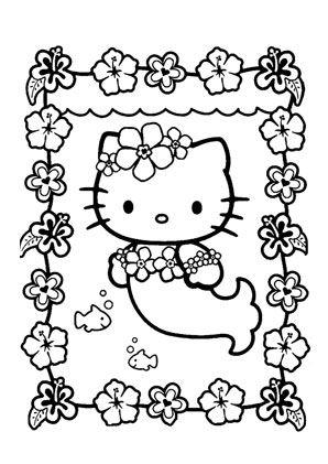 Ausmalbilder Hello Kitty Meerjungfrau 945 Malvorlage Hello Kitty