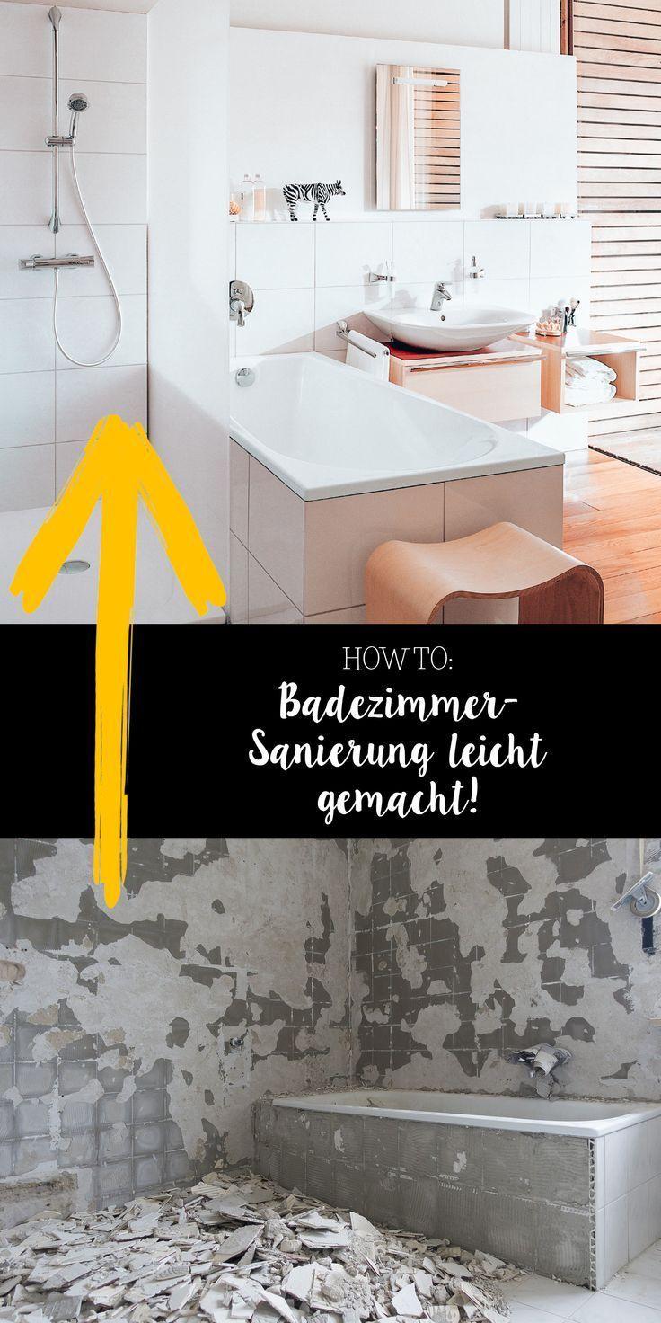 Renoviere Und Saniere Das Badezimmer Und Mach Es Im Handumdrehen