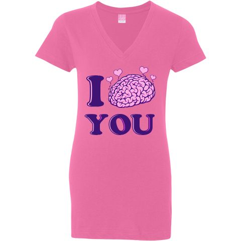 Looking for a geeky way to say I love you? Look no further! Get your I Lobe You Jr. V-Neck Shirts here! $24.99 www.inktastic.com