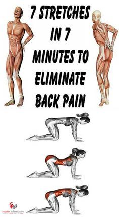 7 Stretches in 7 Minutes For Complete Lower Back Pain Relief