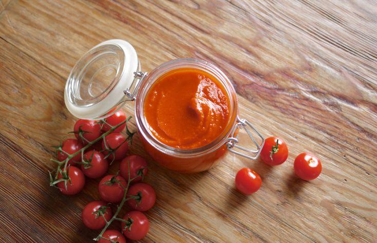 Den beste økologiske ketchupen lager du selv