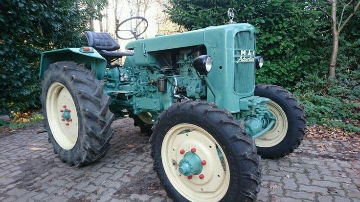 MAN B 18 A, Bj 1956, Traktor, Schlepper, Allrad, Tüv fertig,   eBay