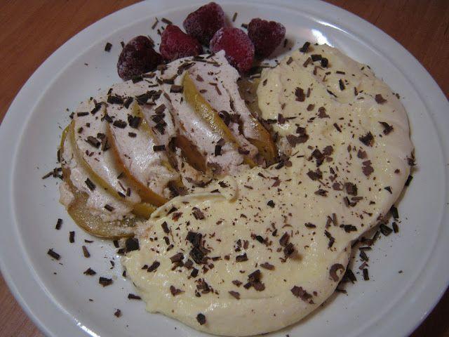 Teri konyhája: Tejfölös-fahéjas sült alma mascarpone-s vanília krémmel és csokiforgáccsal