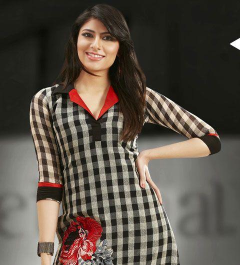 Latest Indian Tunics,Designer Indian Kurtis,online women tunics