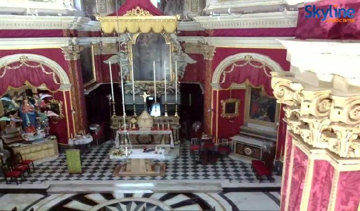 Live Cam Gozo - Collegiate Basilica Our Lady of Visitation