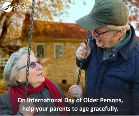 #InternationalDayofOlderPerson While ApnaCare provides comprehensive care for the elderly, these tips can help immensely in easing the burden of dealing with chronic illnesses and mobility challenges.  On International Day of Older Persons, help your parents and elderly loved ones to age gracefully. Read more http://apnacare.in/international-day-of-older-persons  #ApnaCare #healthcare #elderlycare #homehealthcare #Alzheimers #endAlz