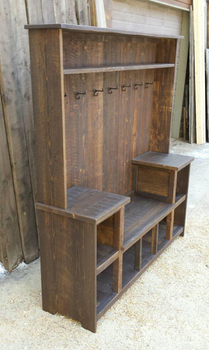 Best 25 Hall Tree Bench Ideas On Pinterest Woodworking
