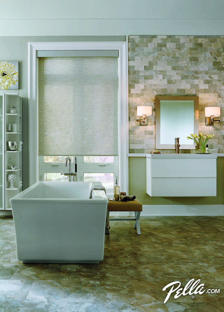 shades bathroom furniture uk%0A Control light and privacy with the touch of a button when you have blinds  or shades