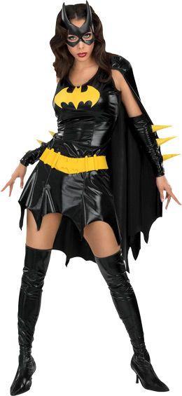 Lisensoitu Batgirl Deluxe asu. Tämä seksikäs supersankaritar pysäyttää varmasti kaikki roistot. #naamiaismaailma