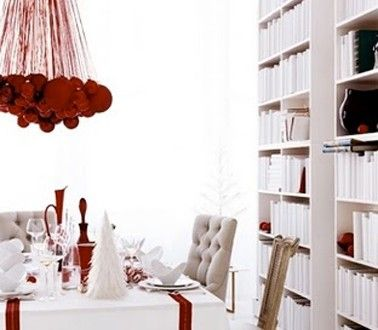 9 Best Déco Table Rouge Noël Images On Pinterest | Red Christmas