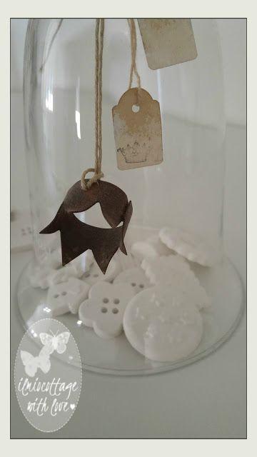 Il mio cottage: Bottoni realizzati con la polvere di ceramica. . ....