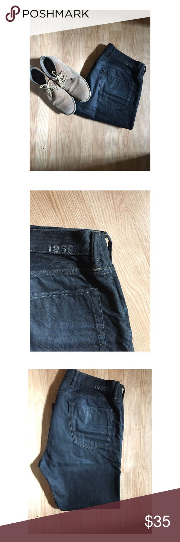 Mens GAP Jeans Men's 1969 GAP Jeans- 38x28,straight. GREAT Condition, dark denim GAP Jeans Straight