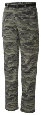 Columbia Silver Ridge Camo Print Cargo Pants for Men - 36/32