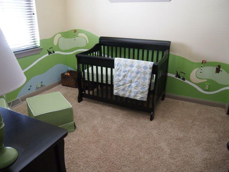 Sarah Higley  printfool printsister printmaker  Golf Themed Nursery. 13 best golf baby nursery images on Pinterest   Golf baby  Golf