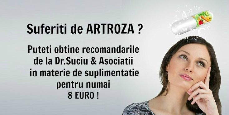 Photo recomandari drsuciu artroza