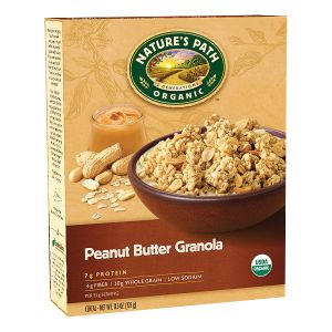Peanut Butter Granola | Nature's Path  (has small amount of molasses at end of ingredient list but should be tolerated by most)