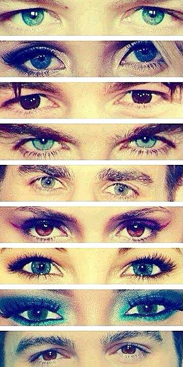 The Vampire Diaries let's see if u guys can guess who the eyes belong to