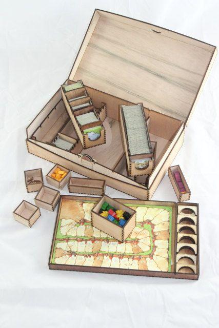 Carcassonne spel vak opslag voor het spel van Carcassonne