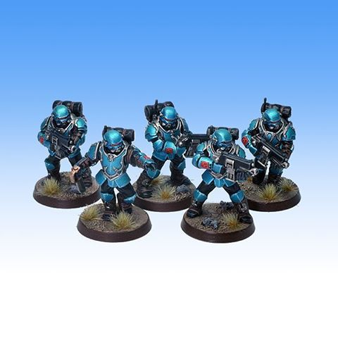 Converted Alpha Legion Scouts