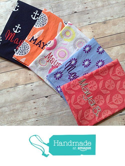 12x 12 Single Ply Set of 5 PICK YOUR PRINTS Monogrammed Personalized Lunchbox Kids Napkins