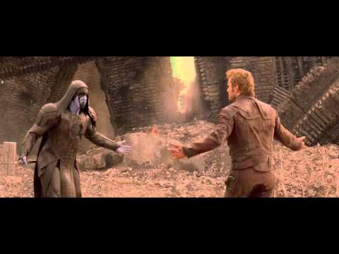 Marvel's Guardians of the Galaxy gag reel - The Dance Off. Ronan the Accuser (Lee Pace), Gamora (Zoe Saldana) and Drax the Destroyer (Dave Bautista) take up Star Lord's (Chris Pratt's) challenge!