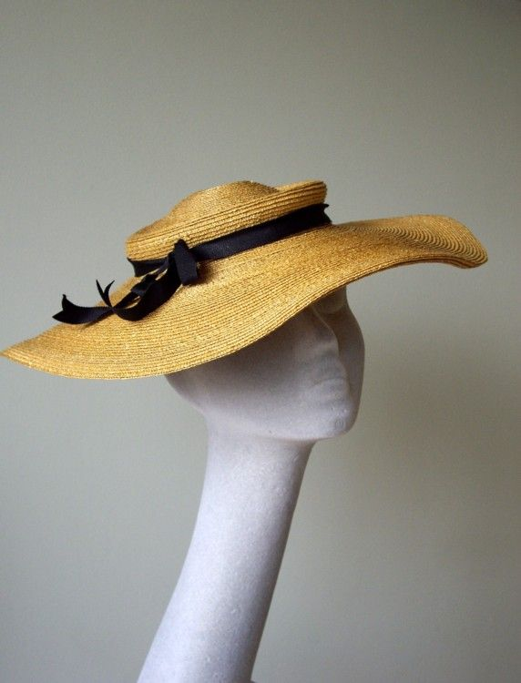 Vintage Garden Hat from Prudence Millinery spring/summer 2011 Collection