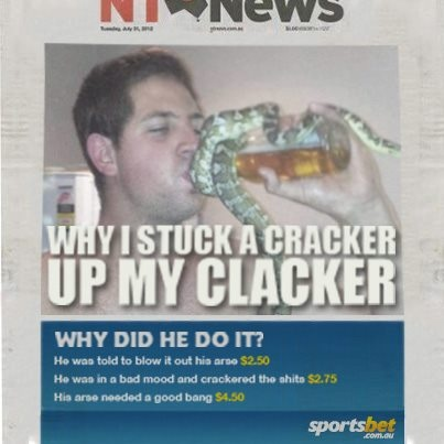 Novelty betting - Why did he do it? - Sportsbet.com.au