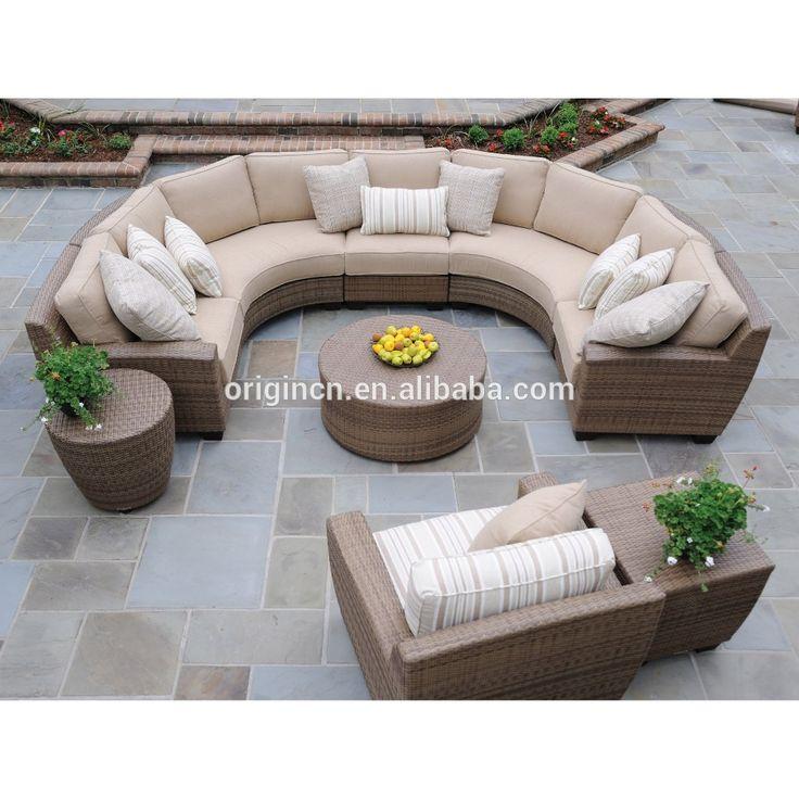 17 mejores ideas sobre muebles de patio de mimbre en for Diseno de muebles de jardin al aire libre