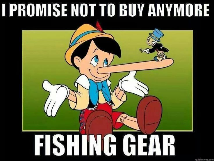 This is the last trip to Bass Pro, I promise! #fishinghumor #Fridayfunnies