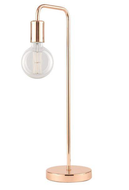 Brilliant 42W DOUGLAS Pipe Table Lamp - Copper