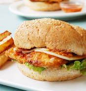 Bondi Chicken Burger .