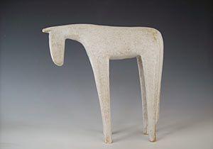 White Horse - Stephanie Cunningham.