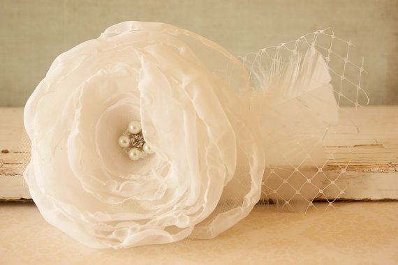 Elegant Wedding Hair Clip Elegant Hair Piece by BeautyfromashesUSA
